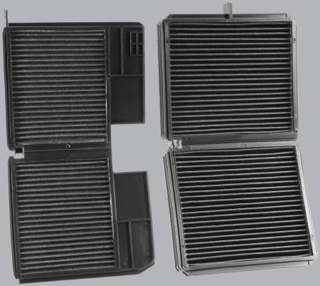 FilterHeads - AQ1061 Cabin Air Filter - Carbon Media, Absorbs Odors - Image 3