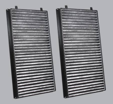 BMW 760Li - BMW 760Li 2007 - FilterHeads - AQ1066C Cabin Air Filter - Carbon Media, Absorbs Odors