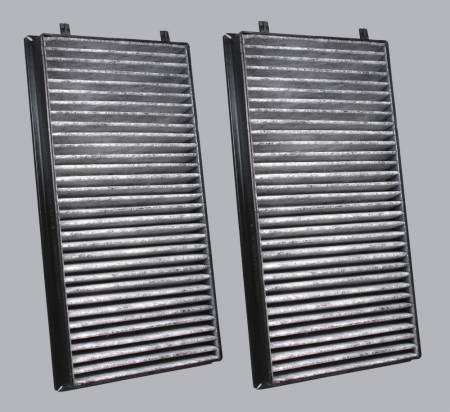 BMW 745i - BMW 745i 2005 - FilterHeads - AQ1066C Cabin Air Filter - Carbon Media, Absorbs Odors