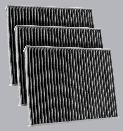 FilterHeads - AQ1259C Cabin Air Filter  - Carbon Media, Absorbs Odors 3PK - Buy 2, Get 1 Free! - Image 1