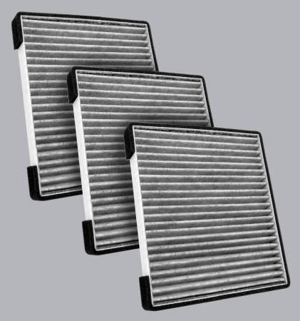 FilterHeads - AQ1271C Cabin Air Filter - Particulate Media 3PK - Buy 2, Get 1 Free! - Image 1
