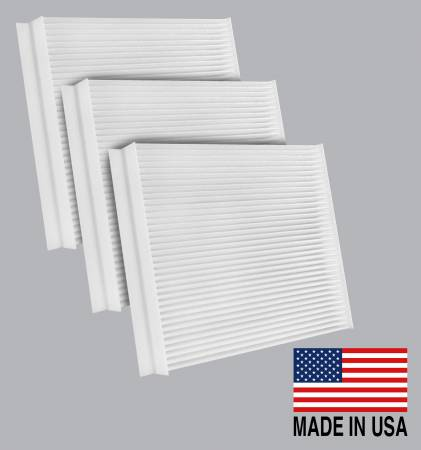 FilterHeads - AQ1098 Cabin Air Filter - Particulate Media 3PK - Buy 2, Get 1 Free! - Image 1