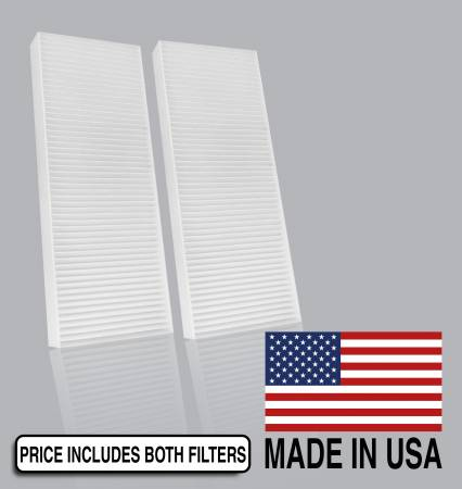 Suzuki Equator - Suzuki Equator 2009 - FilterHeads - AQ1113 Cabin Air Filter - Particulate Media