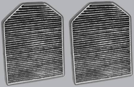 Audi A8 Quattro - Audi A8 Quattro 1998 - FilterHeads - AQ1074C Cabin Air Filter - Carbon Media, Absorbs Odors