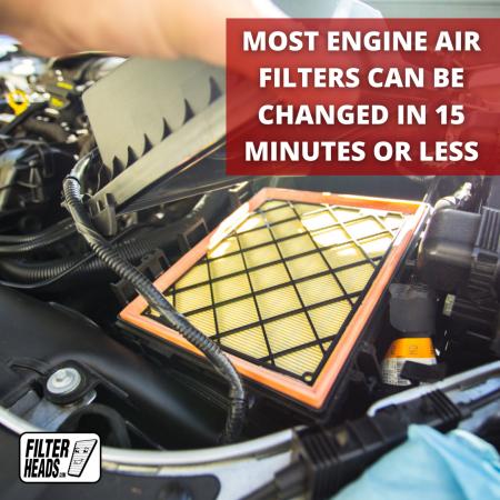 FilterHeads.com - AF21498 Engine Air Filter
