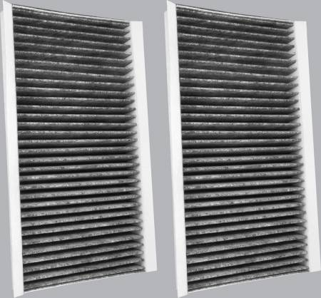 FilterHeads - AQ1134 Cabin Air Filter - Carbon Media, Absorbs Odors - Image 2