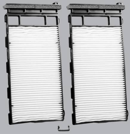 Nissan Xterra - Nissan Xterra 2000 - FilterHeads - AQ1166 Cabin Air Filter - Particulate Media