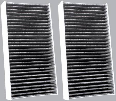 FilterHeads - AQ1180C Cabin Air Filter - Carbon Media, Absorbs Odors - Image 2
